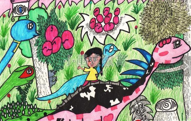 """动物形象,尤其在""""幸福亲情季""""梦想巡游,2012""""金鹰杯""""第二届儿童画大赛"""